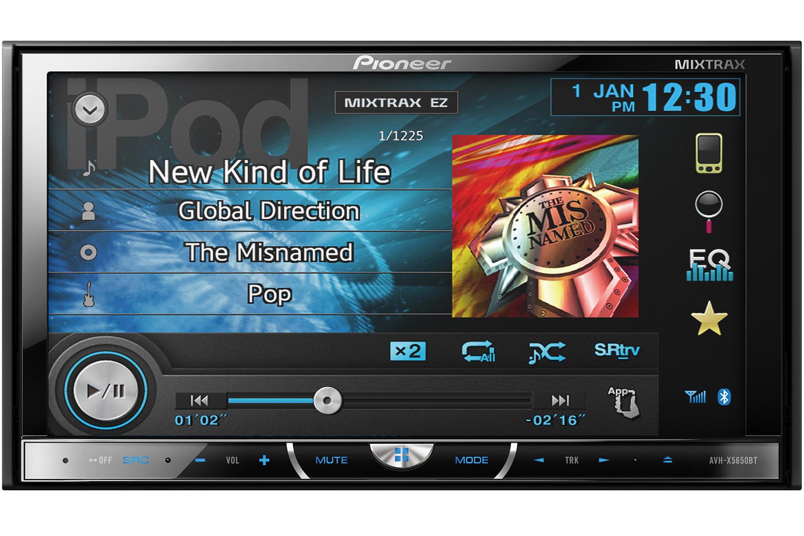 Video DVD Pioneer AVH- X5650BT